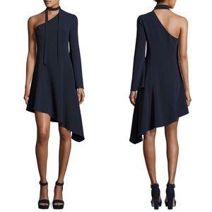 Cinq a Sept Kierra One Shoulder Asymmetric Dress